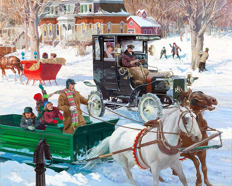 1906 Reo Depot Wagon: The Sound of Sleighbells