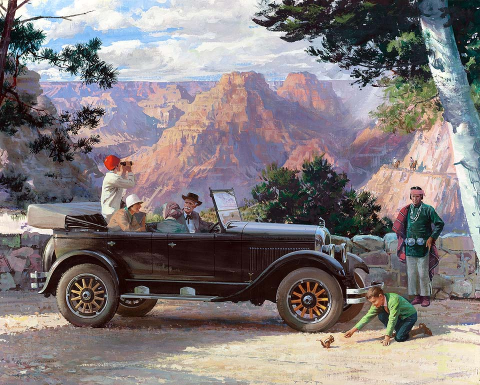 1924 Chrysler: The Open Road Invites Settlement