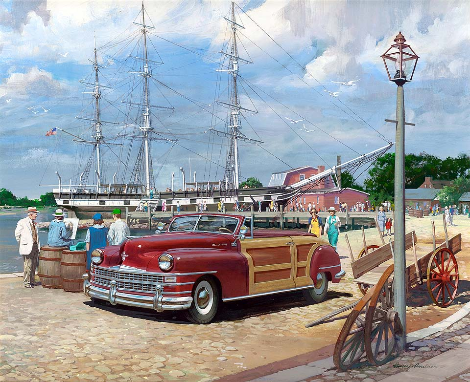 1947 Chrysler Town and Country Convertible: Mystic Seaport