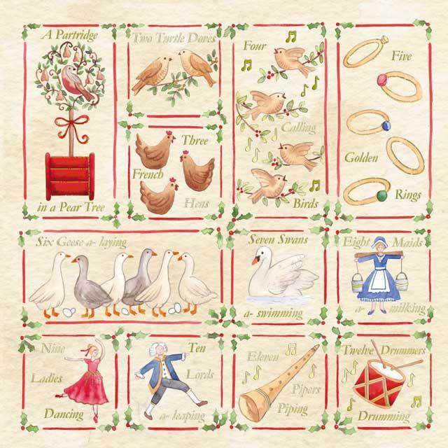 Les 12 jours de Noël à l'école des Clos